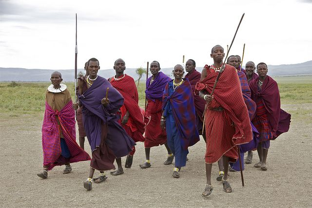 The Maasai in Tanzania. Photo by Martha de Jong-Lantink/Flickr