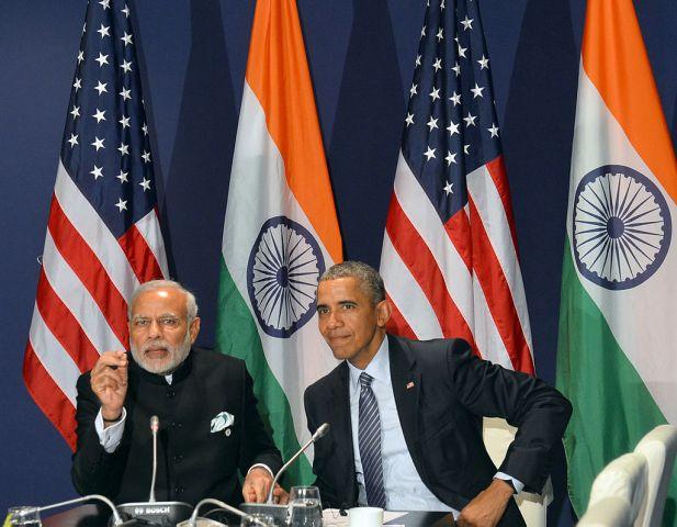 Prime Minister Narendra Modi and President Barack Obama