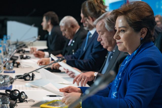 UN officials at the COP24 climate negotiations in Poland