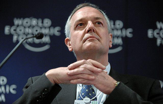 Unilever CEO Paul Polman. Photo by Sebastian Derungs/World Economic Forum