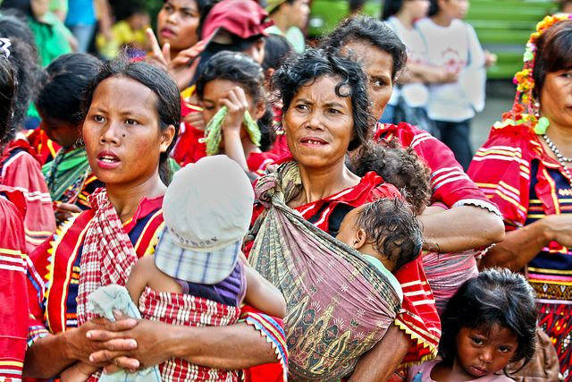 Indigenous women, Philippines