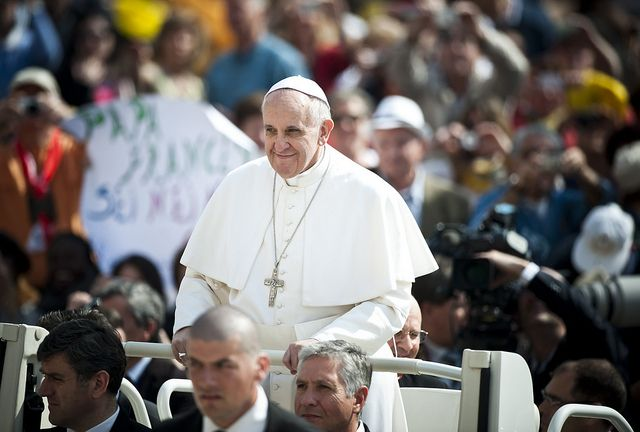 Pope Francis issues his long awaited Encyclical on Climate Change this week. Photo by Mazur/catholicnews.org.uk