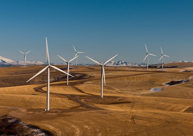Power County Wind Farm, Idaho