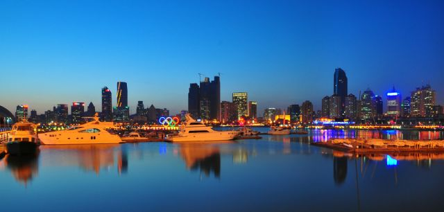 "WRI is working in Qingdao, China to develop a ""sustainability blueprint."" Photo credit: Li Chao, Wikimedia Commons"