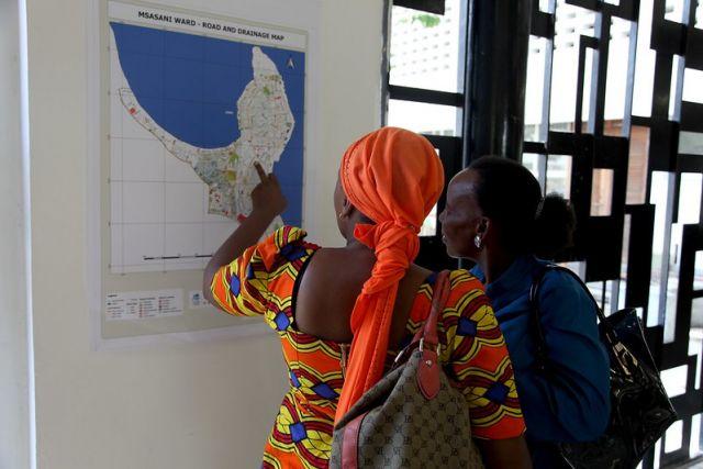 Ramani Huria workshop in Dar es Salaam, Tanzania