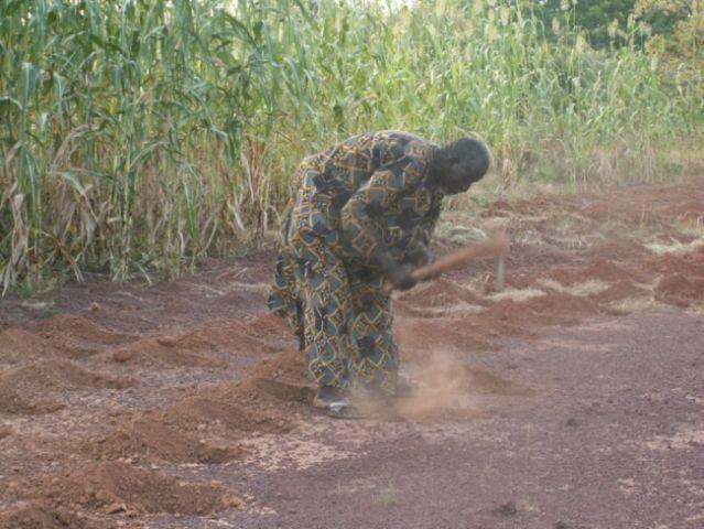 A local farmer in Burkina Faso, Yacouba Sawadogo, innovates. Photo Credit: Chris Reij, WRI