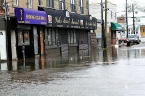 Flooding from Hurricane Sandy in 2012. Photo credit: Pamela Andrade