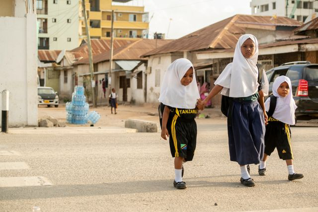 Children in Dar es Salaam