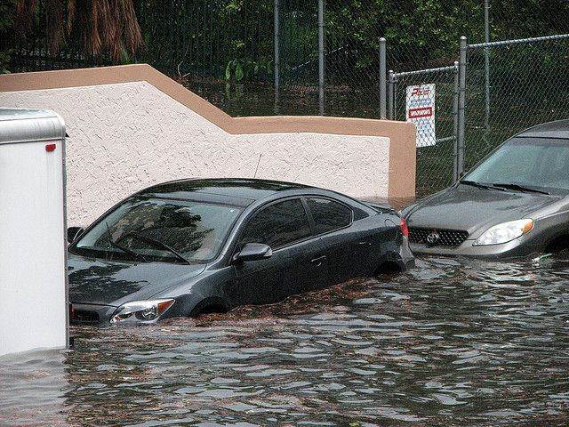 Sea-level rise is a threat that is particularly acute for Florida, with its low elevation and 1,200 miles of coastline. Photo credit: maxstrz/Flickr
