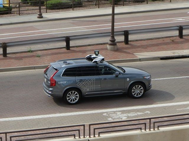self-driving car