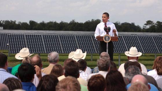 President Barack Obama at the DeSoto Next Generation Solar Energy Center (Photo Credit: Wikipedia)