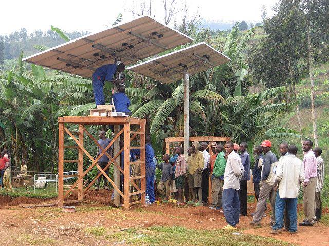 Solar power in Africa