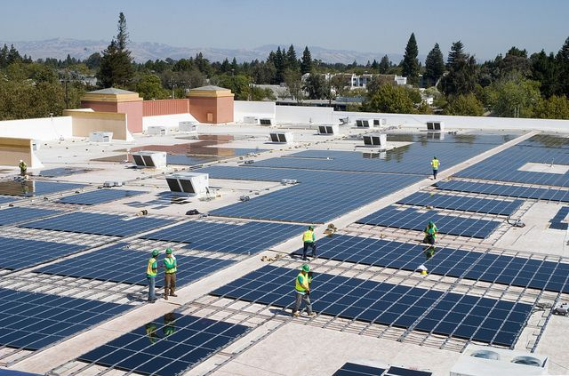 In its 2013 Global Citizenship Report, Citi reported more than $2 billion for solar financing. Photo by Walmart/Flickr