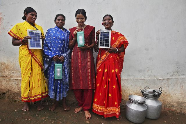 India pledged to increase national solar generation capacity to 100 gigawatts (GW) by 2022. Photo by Matriux2011/Flickr.