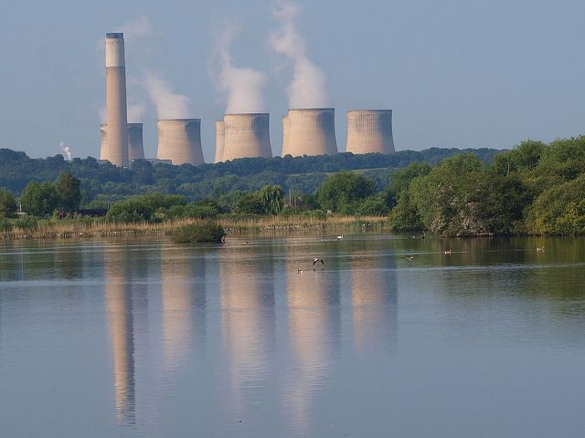 Power plant and water