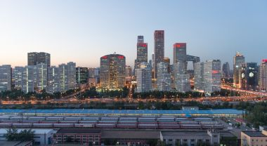 Beijing skyline in the evening. (Flickr/Jens Schott Knudsen)