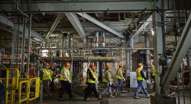 The launch of Boulder Dam carbon capture facility. Flickr/SaskPower