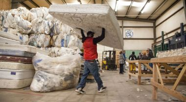Mattress recycling. Flickr/City of Fort Collins, CO