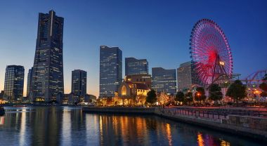 Yokohama Bay, Japan