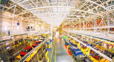 Ford's River Rouge factory. Flickr/Thomas Hawk
