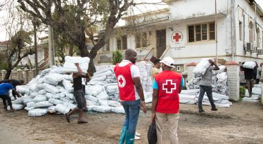 Cyclone Idai response in Mozambique