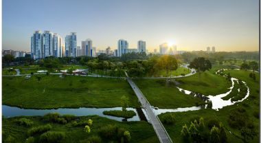 Cross-agency collaboration and investing in blue-green infrastructure resulted in Singapore's redesigned Bishan-Ang Mo Kio Park.
