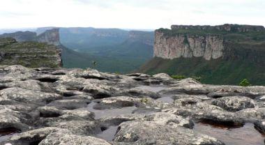 view of Chapada Diamantina in Brazil