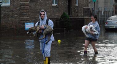 Hoboken, N.J. experienced widespread flooding from Hurricane Sandy. Photo credit: Alec C. Perkins, Flickr