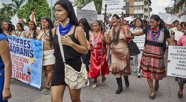 Indigenous people in Ecuador