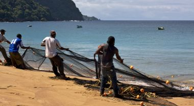 People and economies across the Caribbean are dependent on coastal ecosystems—including coral reefs, mangroves, and beaches. Photo Credit: Katina Rogers
