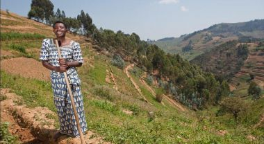 In Rwanda, 85 percent of the population makes a living from subsistence farming of degraded, formerly forested lands. Photo Credit: Gates Foundation/Flickr