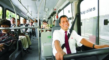 Sustainable transport systems can improve traffic safety, while also offering a number of co-benefits. Photo credit: EMBARQ Mexico