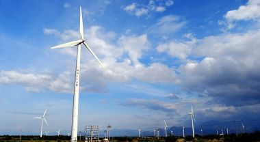 Tamil Nadu is India's leading wind power state. (Zamin Uthukuli, Tamil Nadu, India) Photo by Dhruvaraj S/Flickr.