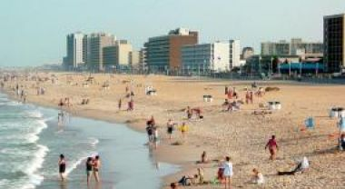 Local leaders in Virginia Beach, VA are making plans to adapt to sea-level rise and coastal flooding. Photo Credit: Wikimedia Commons.