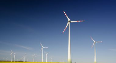 A wind farm in Austria.