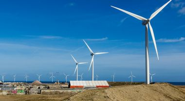 Sixty percent of the largest U.S. companies have set climate and energy goals to increase their use of renewable energy. Photo credit: Thomas Rousing, Flickr
