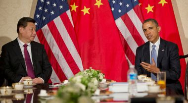 Chinese President Xi Jinping and U.S. President Barack Obama. Photo by U.S. Embassy, The Hague/Flickr.