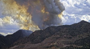 YMCA Mountain fire, Colorado, July 2020