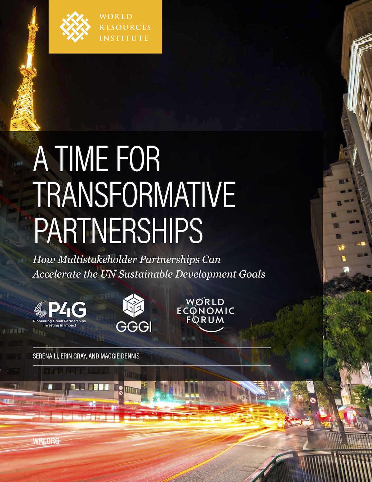 A Time for Transformative Partnerships