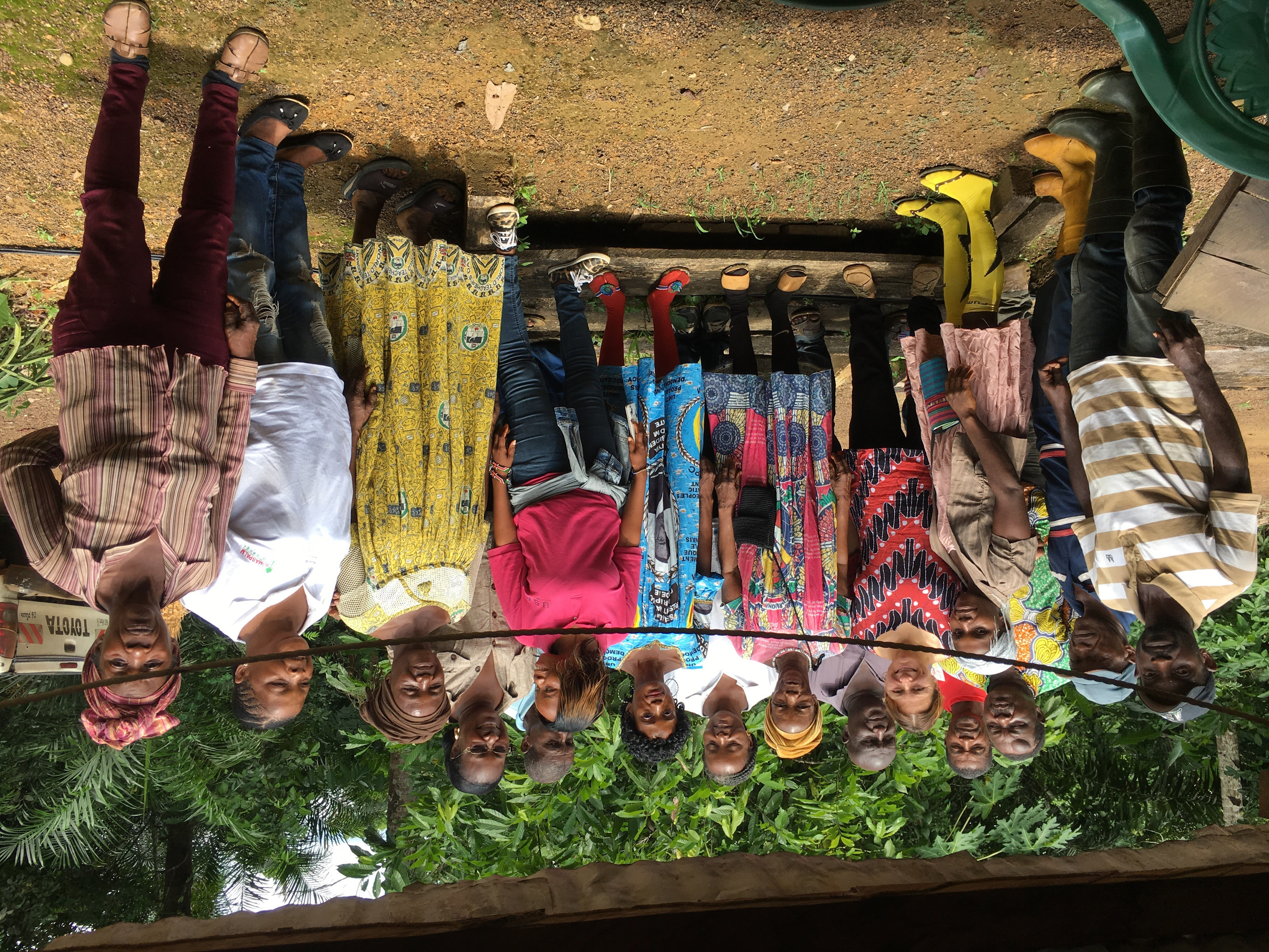 <p>Members of the Boomabong and Pouth-Ndjock Community Forest in Cameroon\'s Littoral Region. Photo by REFACOF/Cameroon Ecology</p>