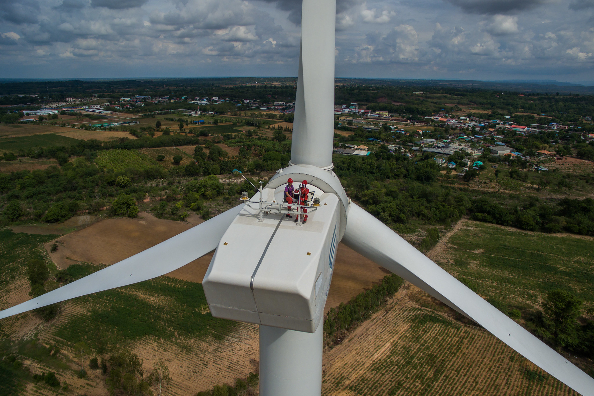 <p>Clean energy developments like this wind farm in Thailand can create jobs and help countries build back better after COVID-19. Photo by Asian Development Bank.</p>