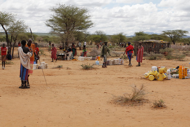 <p>As a lack of rainfall continues to impact communities, establishing supportive financial processes can help identify vulnerabilities and improve resilience. Photo by Africa Progress Panel/Flickr</p>