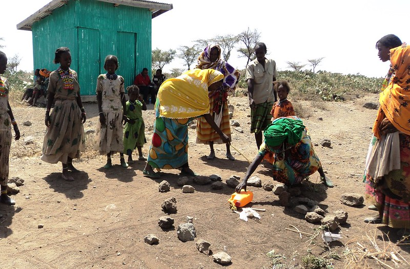 <p>By channeling food aid toward ecosystem restoration, a program in Ethiopia was able to address climate impacts, food security and women\'s empowerment simultaneously. Photo by USAID in Africa/Flickr</p>