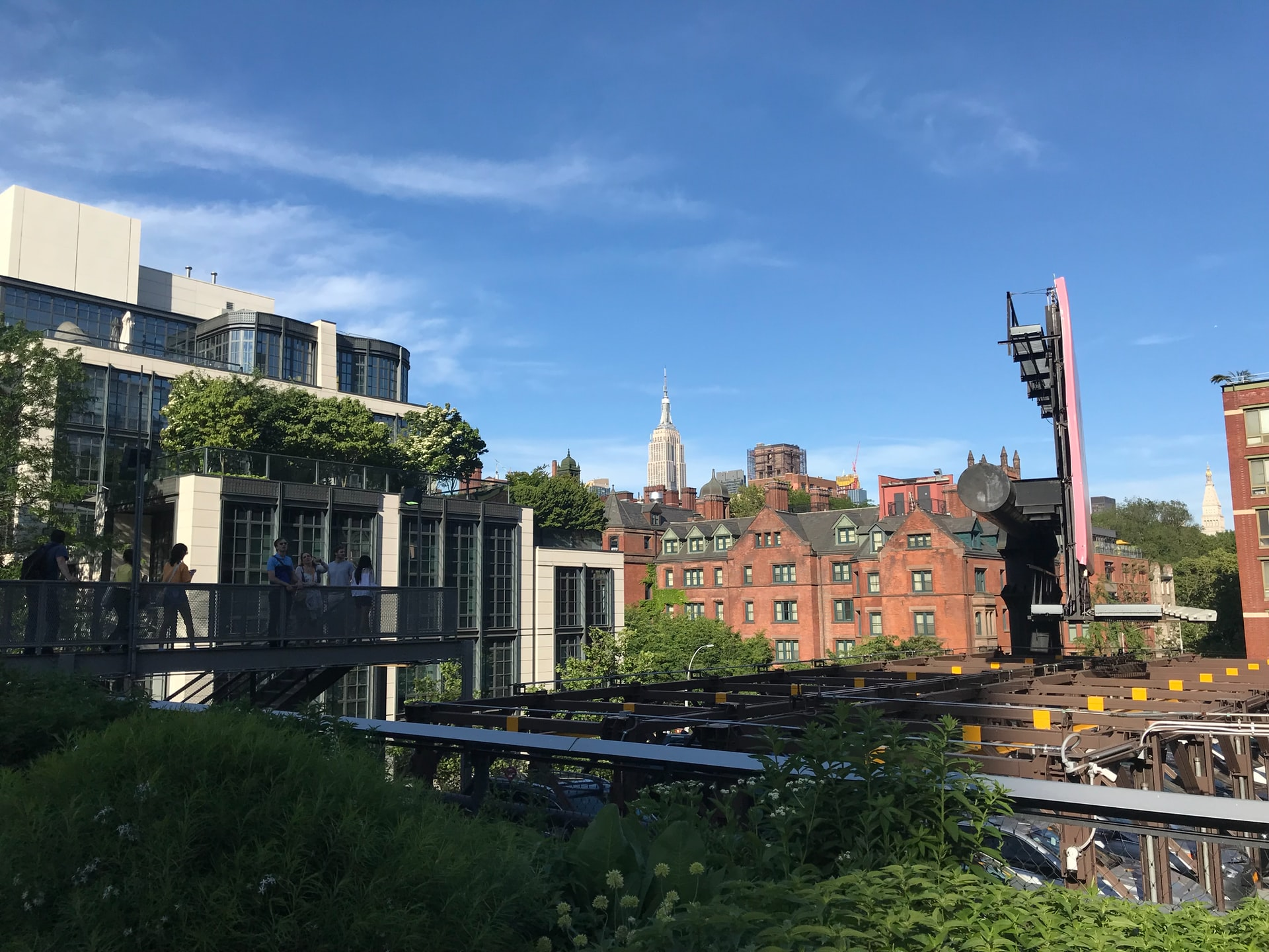 <p>Though Manhattan's High Line provides certain environmental benefits, it contributed to green gentrification and displaced low- and middle-income residents in the area. Photo by Jared Lisack/Unsplash</p>