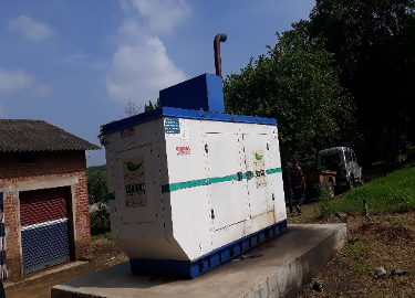 <p>In addition to increased pollution, depending on diesel generators cost Nav Jivan Hospital thousands of dollars a year. Photo by WRI India</p>