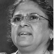 <p><strong>Sheela Patel</strong>, <em>Chair</em>, Slum Dwellers International; <em>Commissioner</em>, Global Commission on Adaptation</p>